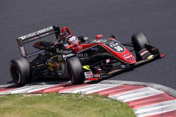 Round 8. Ritomo Miyata, Corolla Chukyo Kuo TOM'S Dallara F317 Toyota, 3rd Photo by Masahide Kamio