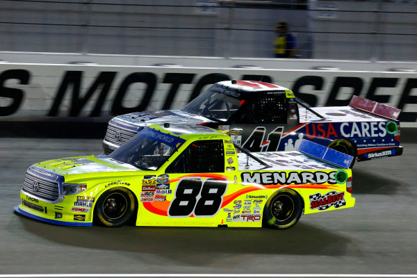 1 October, 2016, Las Vegas, Nevada USA Matt Crafton and Ben Rhodes ?2016, Russell LaBounty LAT Photo USA