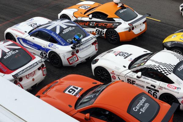 2016 Ginetta GT5 Championship, Donington Park 10th-11th September 2016 Ginetta Cars  World Copyright. Jakob Ebrey/LAT Photographic