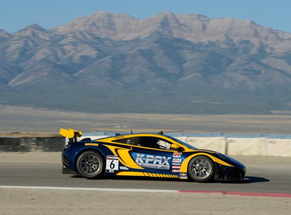 11-13 September,  2014, Tooele,  Utah,  USA #6, K-PAX McLaren 12C GT3, Robert Thorne ©2014, Richard Dole LAT USA