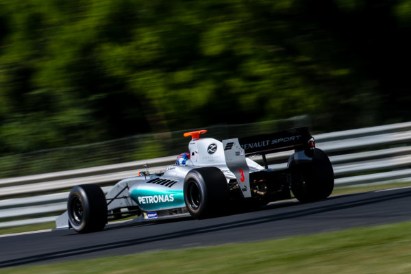 BUDAPEST (HUN) JUNE 12-14 2015 World  series by Renault 2015 at the Hungaroring Jazeman Jaafar #3 Fortec motorsports. Action. © 2015 Klaas Norg / Dutch Photo Agency / LAT Photographic