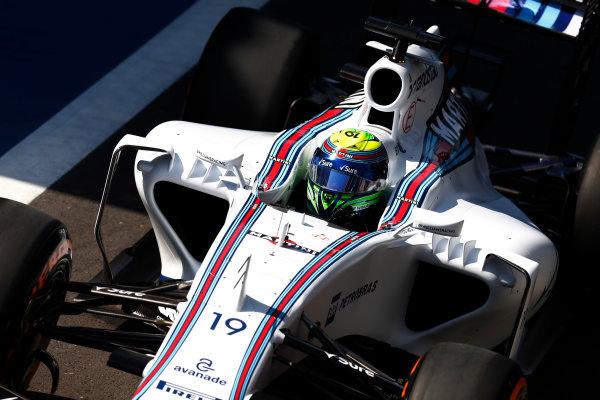 Silverstone, Northamptonshire, England. Friday 03 July 2015. Felipe Massa, Williams FW37 Mercedes. World Copyright: Alastair Staley/LAT Photographic. ref: Digital Image _79P9012