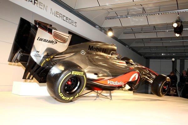 The new McLaren MP4-27. McLaren MP4-27 Launch, McLaren Technology Centre, Woking, England, 1 February 2012.