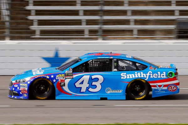Monster Energy NASCAR Cup Series AAA Texas 500 Texas Motor Speedway Fort Worth, TX USA Friday 3 November 2017 Aric Almirola, Richard Petty Motorsports, Smithfield Ford Fusion World Copyright: Russell LaBounty LAT Images