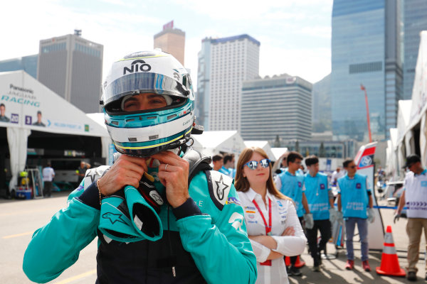 2017/2018 FIA Formula E Championship. Round 1 - Hong Kong, China. Saturday 02 December 2017. Luca Filippi (ITA), NIO Formula E Team, NextEV NIO Sport 003. Photo: Sam Bloxham/LAT/Formula E ref: Digital Image _J6I4351