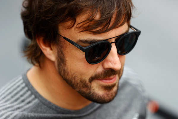 Baku City Circuit, Baku, Azerbaijan. Thursday 22 June 2017. Fernando Alonso, McLaren.  World Copyright: Steven Tee/LAT Images ref: Digital Image _R3I1277