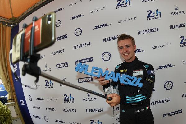 2017 Le Mans 24 Hours Circuit de la Sarthe, Le Mans, France. Sunday 11 June 2017 Matteo Cairoli, Dempsey Proton Competition World Copyright: Rainier Ehrhardt/LAT Images ref: Digital Image 24LM-re-1465