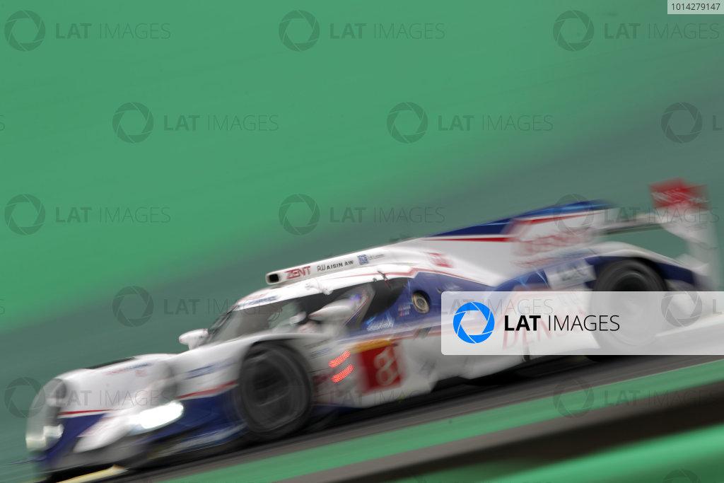2014 World Endurance Championship, Interlagos, Brazil. 28th - 30th November 2014. Anthony Davidson / Sebastien Buemi Toyota Racing Toyota TS 040 Hybrid. World Copyright: Ebrey / LAT Photographic.