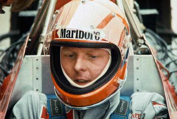 1974 Belgian Grand Prix  Nivelles-Baulers, Belgium. 10-12th May 1974.  Gijs van Lennep, Williams FW02 Ford.  Ref: 74BEL38. World Copyright: LAT Photographic