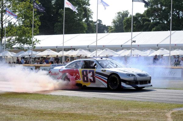 Goodwood Estate, Chichester England 11th - 14th July 2013. NASCAR. World Copyright: Jeff Bloxham/LAT Photographic ref: Digital Image DSC_7389