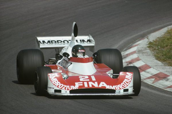 Zandvoort, Holland. 20-22 June 1975. Jacques Laffite, Williams FW04. Ref: 75HOL24. World Copyright - LAT Photographic
