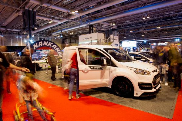 Autosport International Exhibition.  National Exhibition Centre, Birmingham, UK. Sunday 17 January 2016.  Fans at the M-Sport stand. World Copyright: Mike Hoyer/LAT Photographic. ref: Digital Image EL0G9197