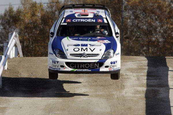 2007 FIA World Rally Champs. Round 14Rally Japan, 25th - 28th October 2007Manfred Stohl, Citroen, actionWorld Copyright: McKlein/LAT