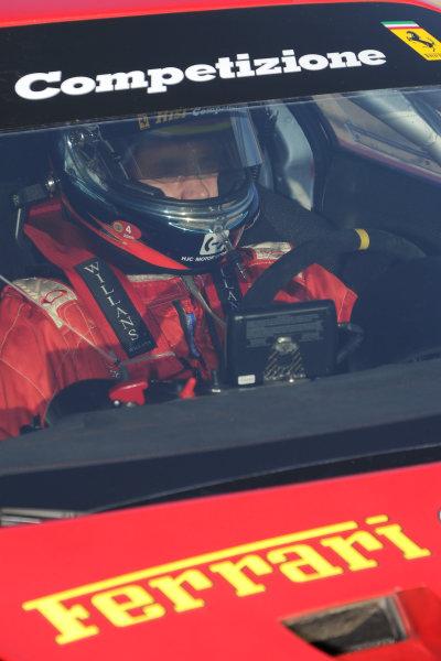 17-20 March 2010, Sebring, Florida, USA#62 Risi Competizione Ferrari 430 GT's Jamie Melo.©Dan R. Boyd, USA LAT Photographic