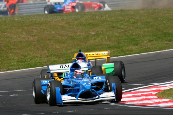 21.01 2007 Taupo, New Zealand, Enrico Toccacelo, Driver of A1Team Italy - A1GP World Cup of Motorsport 2006/07, Round 6, Taupo, Sunday Race 1 - Copyright A1GP - Free for editorial usage
