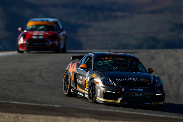 IMSA Continental Tire SportsCar Challenge Mazda Raceway Laguna Seca 240 Mazda Raceway Laguna Seca Monterey, CA USA Friday 22 September 2017 33, Porsche, Porsche Cayman GT4, GS, Till Bechtolsheimer, Marc Miller World Copyright: Jake Galstad LAT Images