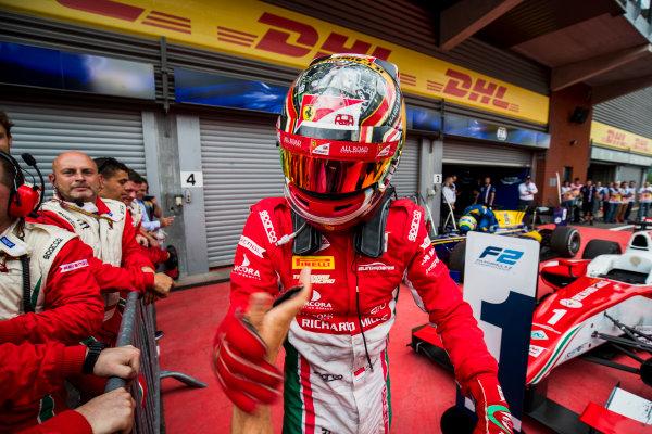 2017 FIA Formula 2 Round 8. Spa-Francorchamps, Spa, Belgium. Saturday 26 August 2017. Charles Leclerc (MCO, PREMA Racing).  Photo: Zak Mauger/FIA Formula 2. ref: Digital Image _54I1997