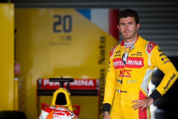 2017 FIA Formula 2 Round 8. Spa-Francorchamps, Spa, Belgium. Friday 25 August 2017. Norman Nato (FRA, Pertamina Arden).  Photo: Alastair Staley/FIA Formula 2. ref: Digital Image _X0W1259