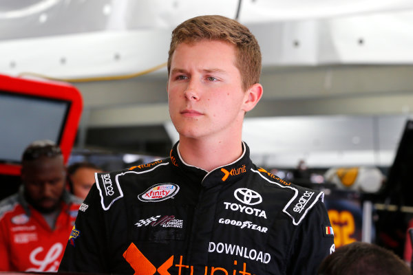 NASCAR XFINITY Series Drive for the Cure 300 Charlotte Motor Speedway, Concord, NC Friday 6 October 2017 Matt Tifft, MotoRad Toyota Camry World Copyright: Russell LaBounty LAT Images
