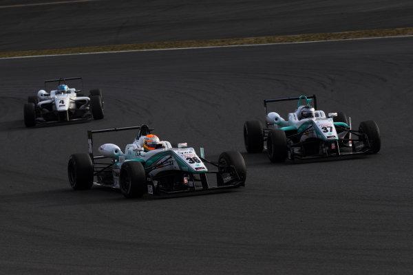 Rd 14 - 15. Fuji Speedway, Japan. 13th - 14th October 2012. Rd 14 - Winner Yuichi Nakayama ( #36 PETRONAS TEAM TOM'S ) World Copyright: Yasushi Ishihara/LAT Photographic ref: Digital Image 2012JF3_Rd14_006