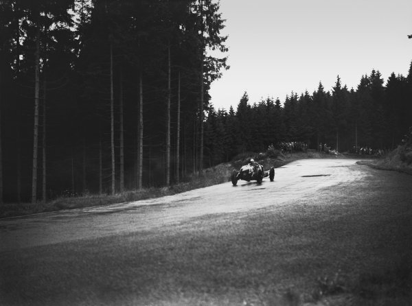 Nurburgring, Germany. 19th July 1931. Henry Birkin (Maserati 26M), 10th position, action.  World Copyright: LAT Photographic. Ref:  Autocar Glass Plate B6817