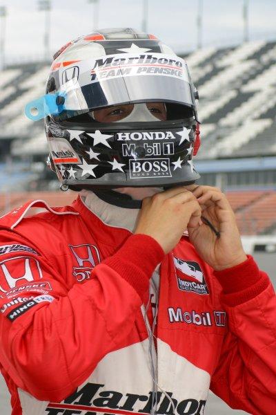 DAYTONA INTERNATIONAL SPEEDWAY, SEPT. 27, 2006,  DAYTONA BEACH, FL Sam Hornish,  . No. 6 Marlboro Team Penske Dallara/Honda