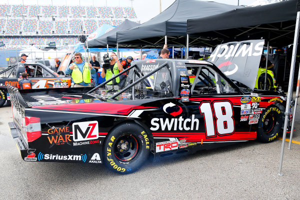 2017 Camping World Truck - NextEra Energy Resources 250 Daytona International Speedway, Daytona Beach, FL USA Thursday 23 February 2017 Noah Gragson World Copyright: Russell LaBounty/LAT Images ref: Digital Image 17DAY2rl_00976