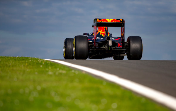 Silverstone, Northamptonshire, UK. Wednesday 13 July 2016. Pierre Gasly, Red Bull Racing RB12 TAG Heuer. World Copyright: Zak Mauger/LAT Photographic ref: Digital Image _L0U8737