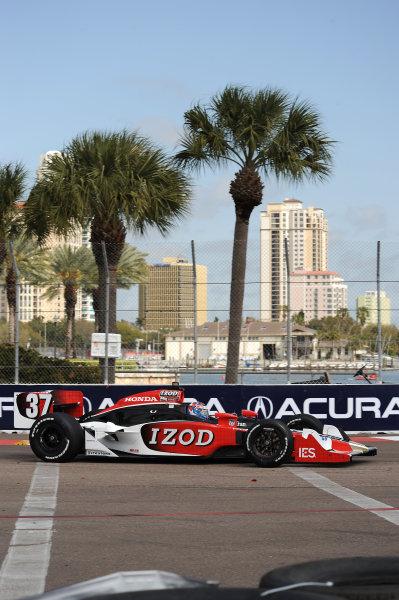 26-28 March 2010, St petersburg, Florida USA#37 Andretti Autosport's Ryan Hunter-Reay.©Dan R. Boyd LAT Photographic USA