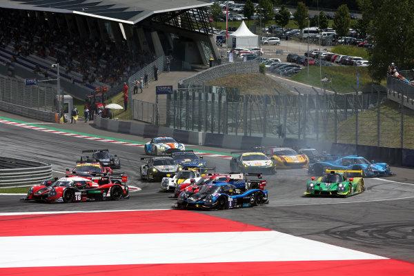 2017  European Le Mans Series, Red Bull Ring, 21st-23rd July 2017, #8 Vincent Beltoise (FRA) / Lucas Legeret (CHE) / Douglas Lundberg (SWE) - DUQUEINE ENGINEERING - Ligier JS P3 ? Nissan World Copyright. JEP/LAT Images