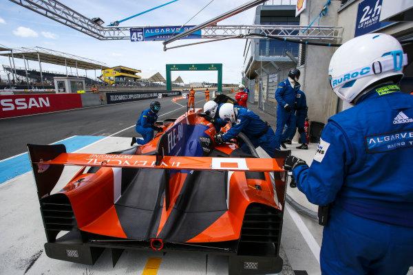 2017 Le Mans 24 Hours Test day, Le Mans, France. 4th June 2017. #45 Algarve Pro Racing Ligier JSP217-Gibson: Mark Patterson, Matthew McMurry, Vincent Capillaire. World Copyright: JEP/LAT Images.
