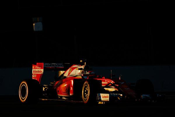 Circuit de Catalunya, Barcelona, Spain Thursday 25 February 2016. Kimi Raikkonen, Ferrari SF16-H. World Copyright: Alastair Staley/LAT Photographic ref: Digital Image _79P5022