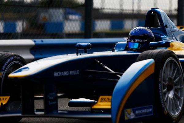 FIA Formula E Test Day, Donington Park, UK.  3rd - 4th July 2014.  Nicolas Prost, e.dams. Photo: Zak Mauger/FIA Formula E ref: Digital Image _L0U4477