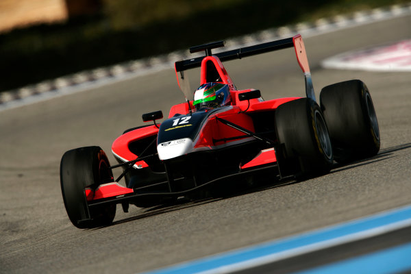 Paul Ricard, France. Friday 4th March 2011. Matias Laine, (FIN, Marussia Manor Racing).  Action. World Copyright: Drew Gibson/GP3 Media Service.ref: Digital Image _Y2Z4365