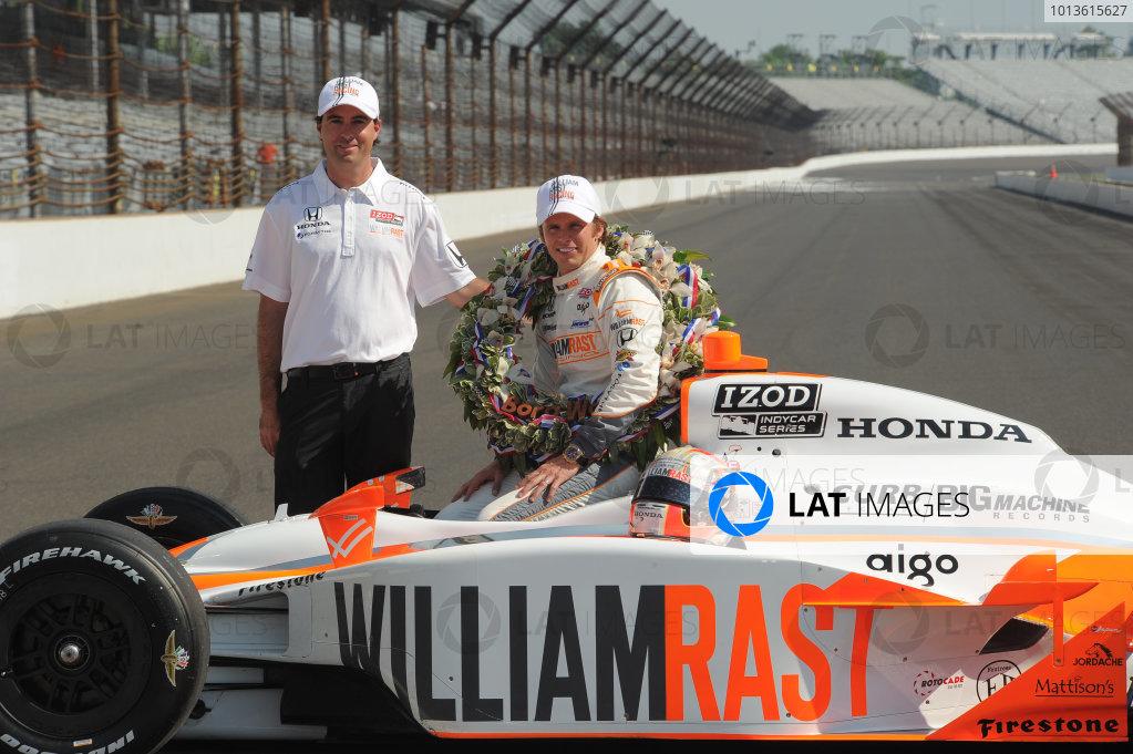 23  May 2011, Indianapolis, Indiana USA2011 Indy 500 winner, Dan Wheldon with Bryan Herta.©2011 Dan R. Boyd Lat Photo USA