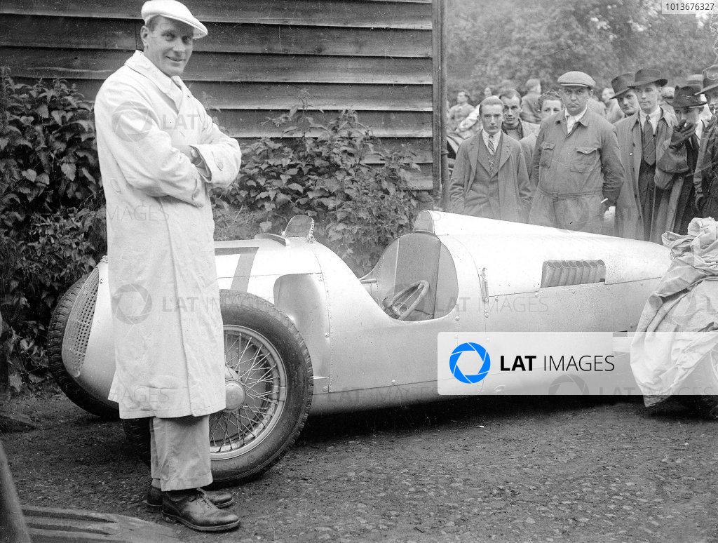 1936 Shelsey Walsh Hill Climb.
