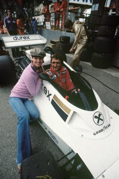Monte Carlo, Monaco. 20-22 May 1977. Hans Binder, Surtees TS19 Ford. Ref: 77MON43. World Copyright - LAT Photographic