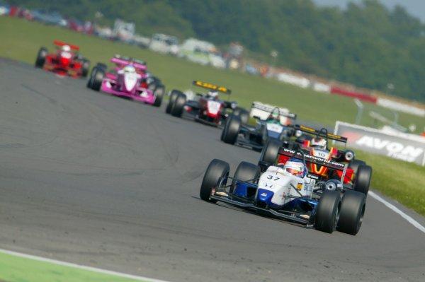 2007 British Formula Three Championship. Snetterton, England. 2nd - 3rd June 2007.Victor Jenson, (Alan Docking Racing).Action.World Copyright: Drew Gibson/LAT Photographic.Ref: Digital Image Only.