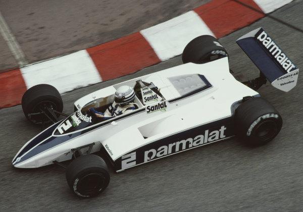 Riccardo Patrese, Brabham BT49D Ford.