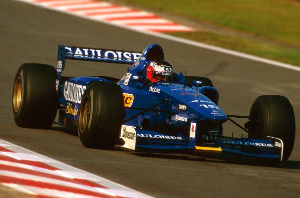 Spa-Francorchamps, Belgium.22-24 August 1997.Shinji Nakano (Prost JS45 Mugen Honda) failed to finish after he spun off on lap 5.Ref-97 BEL 14.World Copyright - LAT Photographic