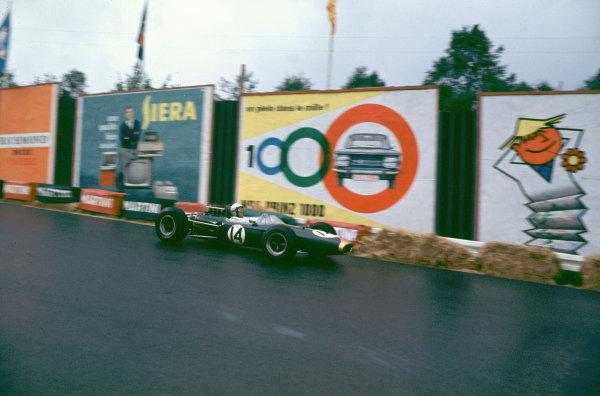 Spa-Francorchamps, Belgium.11-13 June 1965.Jack Brabham (Brabham BT11 Climax) 4th position.Ref-65 BEL 06.World Copyright - LAT Photographic