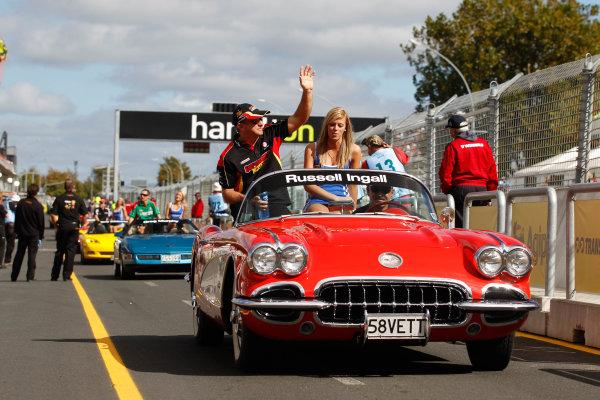 Round 4 - Hamilton 400.Hamilton City Street Circuit, Hamilton, New Zealand.17th - 18th April 2010.Car 39, Holden Commodore VE, Paul Morris Motorsport, Russell Ingall, Supercheap Auto Racing.World Copyright: Mark Horsburgh / LAT Photographicref: 39-Ingall-EV04-10-4803