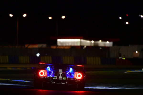 #67 Ford Chip Ganassi Racing Ford GT: Andy Priaulx, Harry Tincknell, Tony Kanaan, Test