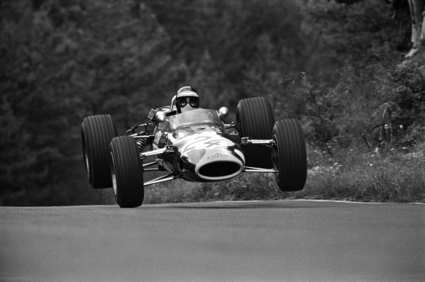 Jackie Oliver, Lotus 48 Ford (F2).