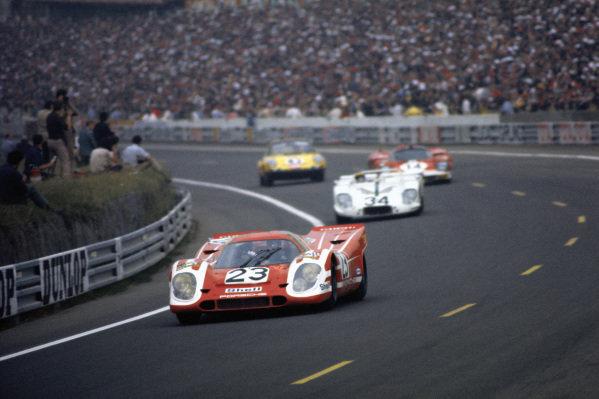 Richard Attwood / Hans Herrmann, Porsche Konstruktionen K.G., Porsche 917K.