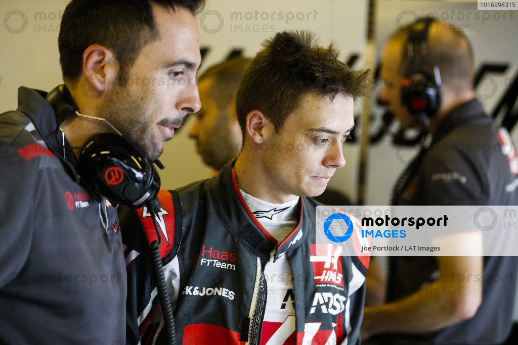 Louis Deletraz, Haas test and development driver.