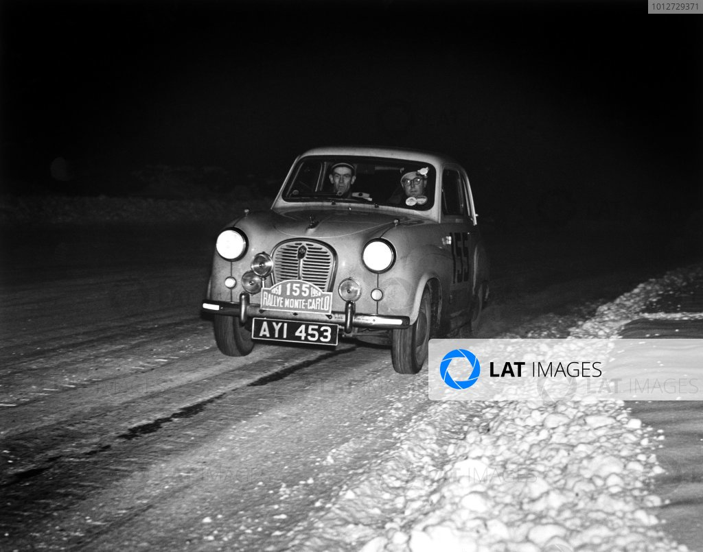 1958 Monte Carlo Rally.