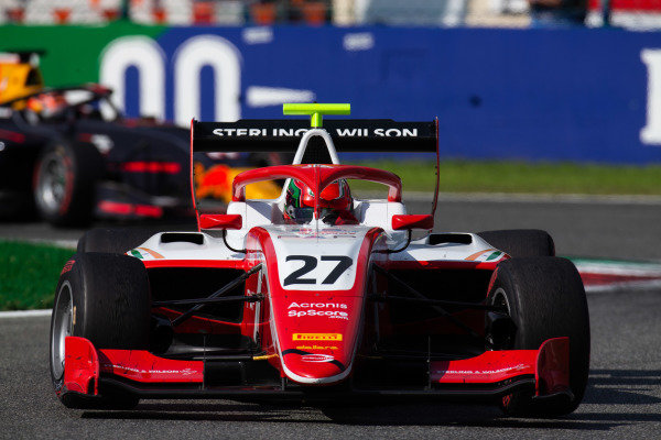 AUTODROMO NAZIONALE MONZA, ITALY - SEPTEMBER 07: Jehan Daruvala (IND, PREMA Racing) during the Monza at Autodromo Nazionale Monza on September 07, 2019 in Autodromo Nazionale Monza, Italy. (Photo by Joe Portlock / LAT Images / FIA F3 Championship)