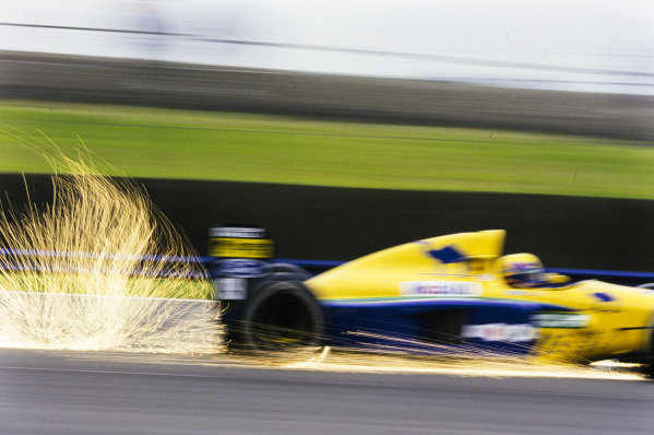Roberto Moreno, Benetton B191 Ford.