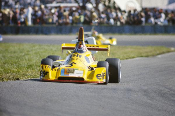 Jean-Pierre Jabouille, Elf 2J Renault/Gordini.